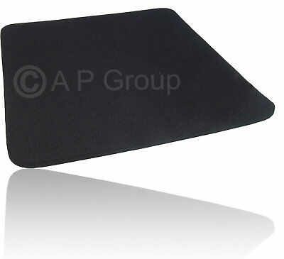 Mouse Mat Pad Fabric 245mm x 220mm x 5mm BLACK * BUY 2 GET 3RD FREE *