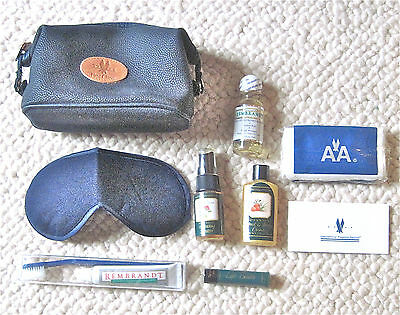 (15) 1980s-AMERICAN AIRLINES--1ST CLASS TRAVEL KIT--LOT (15)-NEVER USED--NMT