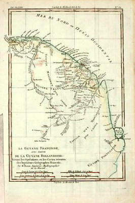 ANTIQUE MAP-GRENADE-GUYANA-SOUTH-AMERICA-GIRALDON-1812 - $132.50 ...