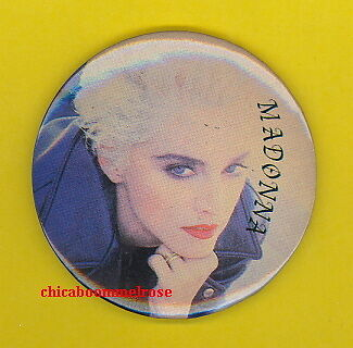 MADONNA 1990 uk LARGE HAND POCKET MIRROR MM #3