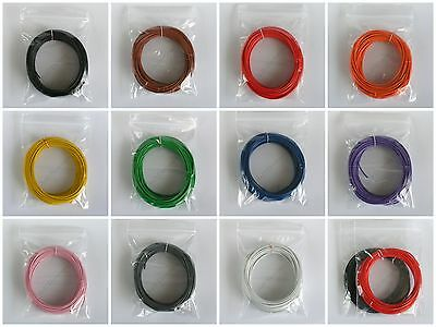 10M Equipment Wire 16/0.2mm Choice of 11 Colours - 1kV 3A Stranded Hook Up Wire