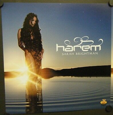 Sarah Brightman Double Sided Promo Poster Flat Harem 2003 It's A Beautiful Day