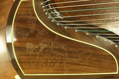 Dunhuang Collection Guzheng 698J Elite Indian Rosewood Chinese Zither