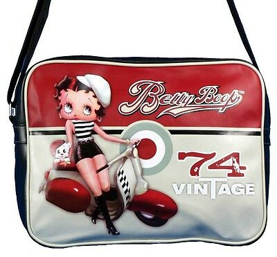 Borsa Basic Betty Boop Vintage 74 Black ecopelle