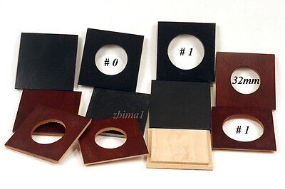 "1 LENS BOARD 64 x 64mm PLYWOOD - FOR GRAFLEX 2-1/4 x3-1/4"" -undrilled,or Copal#0"