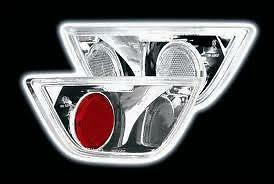 Ford Focus MK1 & MK2 (1998 - 2008) Chrome Fog and Reverse Lexus Lights - Pair