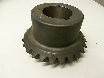 "New Boston Gear Lsa122Y-L Spiral Miter Gear 25T Approx. 2"" Bore Lsa122Y L"