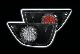 Ford Focus MK1 & MK2 (1998 - 2008) Black / Smoked Fog and Reverse lexus lights