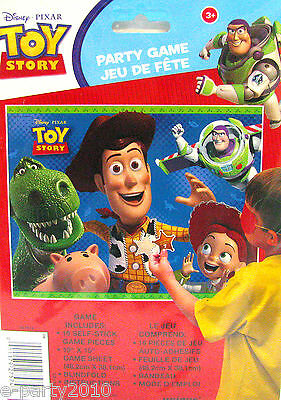 DISNEY PIXAR TOY STORY III PARTY GAME ~ Birthday Party Supplies ~ FAVORS