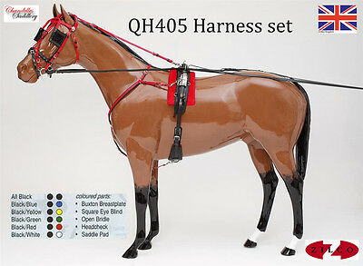 Zilco Trotting Racing Harness U.K Style H405 H406 Quick Hitch Or Traditional