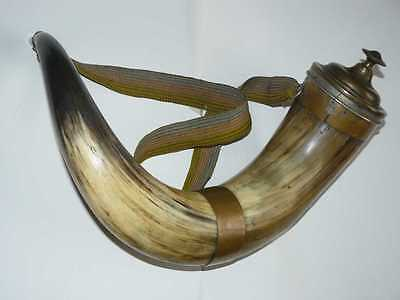 End XIXc. Antique Russian Imperial LARGE Wine Drinking Horn Voltveti Manor House