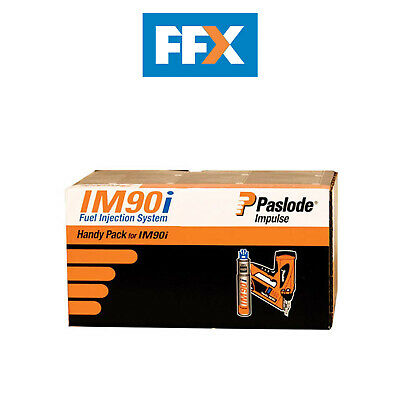 Paslode 142065 3.1mm x 90mm ST Galv Plus Handy Pack 1250 per box + 1 fuel cells