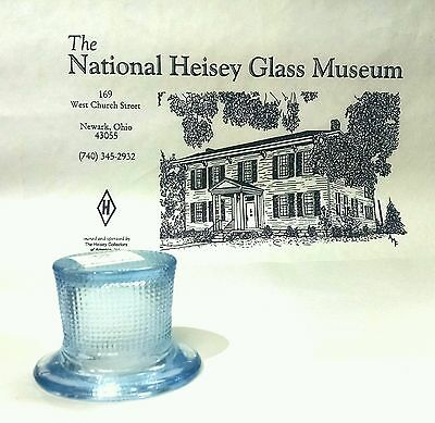 Heisey by Mosser Top Hat Toothpick Willow Blue