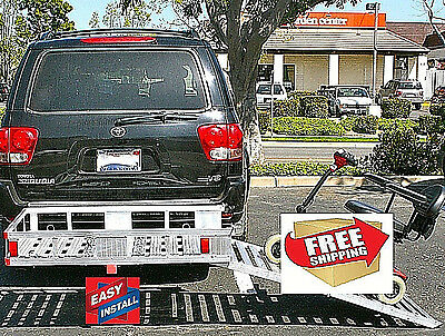 WHEELCHAIR SCOOTER MOBILITY 500lb CAP HD EX WIDE ALUMINUM CARRIER comp at $500!