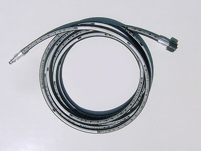 4 Metre Heavy Duty Pressure Washer Replacement Hose For Karcher K Series C Clip