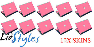 LidStyles Lot of 10 PINK Vinyl Laptop Skins Decal fits Dell Latitude D620 D630