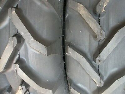 TWO 12.4x28,12.4-28 8 Ply FORD JUBILEE 2N 8N Tractor Tires w/Tubes