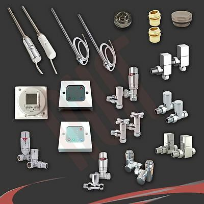 Radiator Valve Sets, Electric Elements, Thermostatic Controllers & Timers