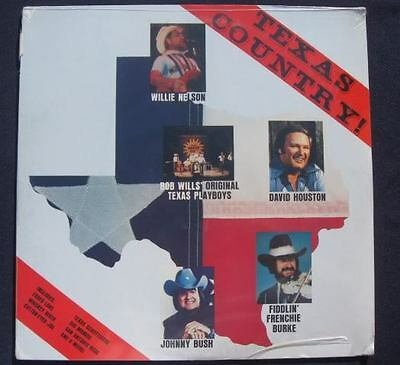 TEXAS COUNTRY! Willie Nelson, Bob Wills ect. SEALED LP