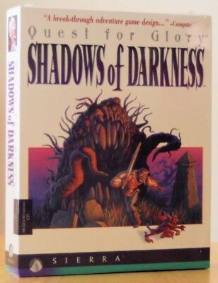 QUEST FOR GLORY IV 4 SHADOWS OF DARKNESS +1Clk Windows 10 8 7 Vista XP Install