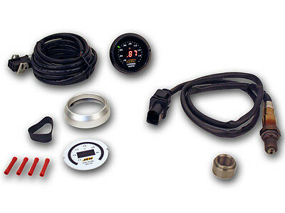Aem 6 In 1 Wideband Gauge Kit Uego Controller O2 Oxygen Air Fuel Ratio Afr