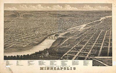Minnesota Vintage Panoramic Maps Collection On Cd