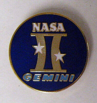 Project Gemini Mission Lapel Pin Official NASA Edition Space Program