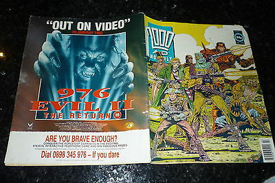 The BEST Of 2000 AD MONTHLY Comic - PROG No 77 - Date 02/1992 - UK  Paper Comic