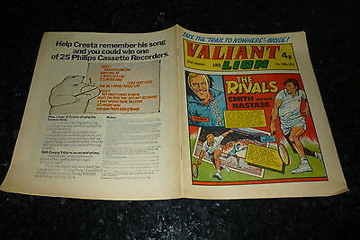 VALIANT & LION Comic (1974) - Date 29/06/1974 - UK Paper Comic
