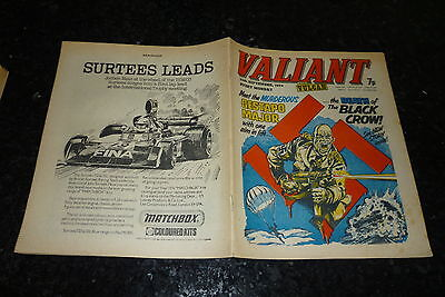 VALIANT & VULCAN Comic - Date 25/09/1976 - IPC UK Comic