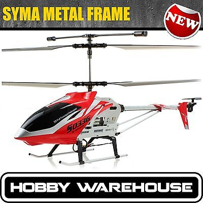 BIG Syma S033G 3.5 Channel RC Helicopter Metal Frame RTF GYRO Large Size 3ch