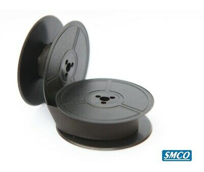 SMCO Typewriter Ribbon Twin Spool Black For Olympia  Splendid 33 66 99 Traveller