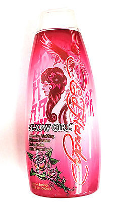 Ed Hardy Show Girl Indoor Tanning Bed Lotion w/ Silicone Bronzer