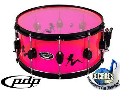 Pacific by DW 14' x 7' Acrylic Snare Drum **NEW**