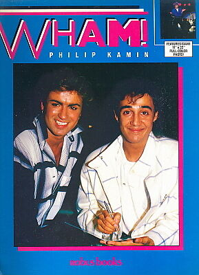 Wham! 1985 uk book by Philip Kamen ROBUS BOOKS 34 pages unused