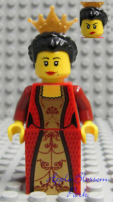 Middle Part Girl Boy Castle Town NEW Lego Female Minifig RED HAIR