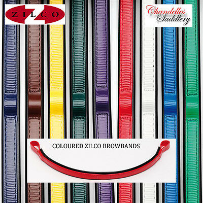 Zilco Red Coloured Browband