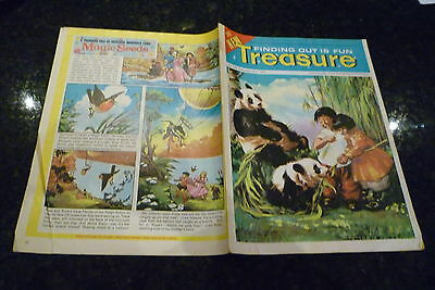 The new TREASURE - No 350 - Date 27/09/1969 -  UK Paper Comic