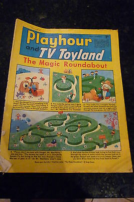 "PLAYHOUR & TV TOYLAND - (1968) - Date 17/02/1968 -  Inc ""The Magic Roundabout"""