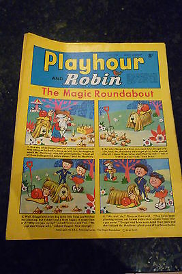 "PLAYHOUR & ROBIN - (1969) - Date 07/06/1969 -  Inc ""The Magic Roundabout"""
