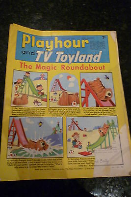 """PLAYHOUR & TV TOYLAND - (1968) - Date 29/06/1968 -  Inc """"The Magic Roundabout"""""""
