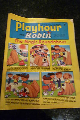 "PLAYHOUR & ROBIN - (1969) - Date 16/08/1969 -  Inc ""The Magic Roundabout"""