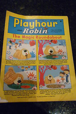 "PLAYHOUR & ROBIN - (1970) - Date 31/01/1970 - Inc ""The Magic Roundabout"""