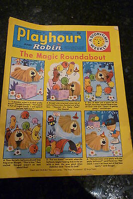 "PLAYHOUR & ROBIN - (1971) - Date 12/06/1971 -  Inc ""The Magic Roundabout"""