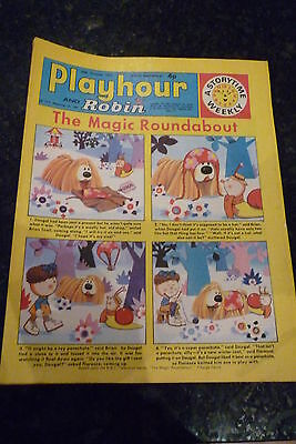 "PLAYHOUR & ROBIN - (1971) - Date 30/10/1971 - Inc ""The Magic Roundabout"""