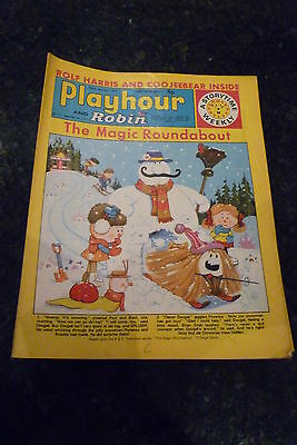 """PLAYHOUR & ROBIN - (1972) - Date 22/01/1972 - Inc """"The Magic Roundabout"""""""