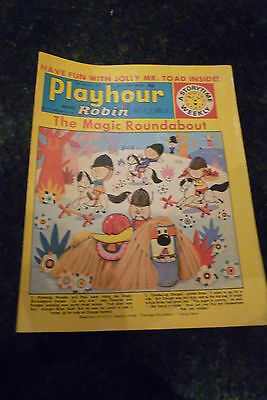 "PLAYHOUR & ROBIN - (1972) - Date 05/02/1972 -  Inc ""The Magic Roundabout"""