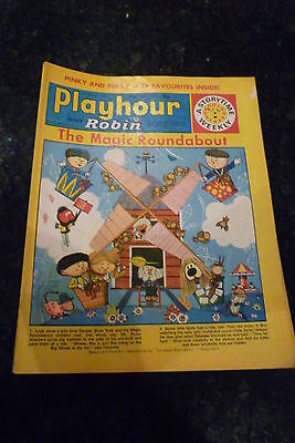 "PLAYHOUR & ROBIN - (1972) - Date 11/03/1972 - Inc ""The Magic Roundabout"""
