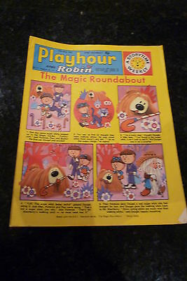 "PLAYHOUR & ROBIN - (1972) - Date 27/05/1972 - Inc ""The Magic Roundabout"""