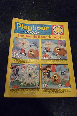 "PLAYHOUR & ROBIN - (1972) - Date 24/06/1972 - Inc ""The Magic Roundabout"""